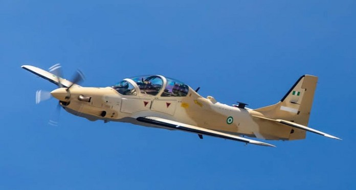 BREAKING: NAF Speaks On Arrival Of A-29 Super Tucano Aircraft From US