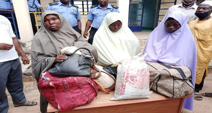 Police arrest women