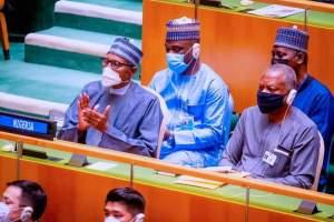 Time for Buhari, UN General Assembly, UNGA 76: Buhari To Present Nigeria's Statement September 24-EkoHotBlog