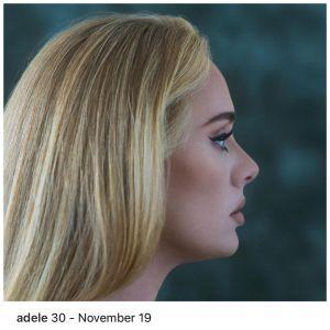 "Adele Announces Release Date For New Album ""30"""