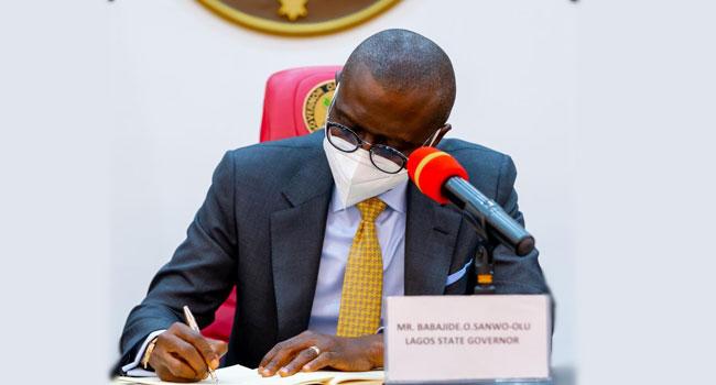 Governor Sanwo-Olu, Permanent Secretaries, Sanwo-Olu