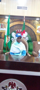 BREAKING: 14-Year-Old Girl Becomes Kano Governor (Photo)