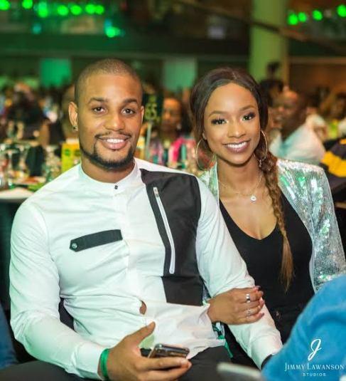 Alexx Ekubo and Fancy Acholonu