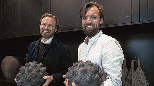 Anssi Jokinen ja Sebastian Schauman