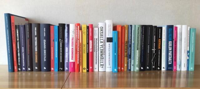 Lähes 40 kirjaa kisaa Suomen parhaan bisneskirjan palkinnosta