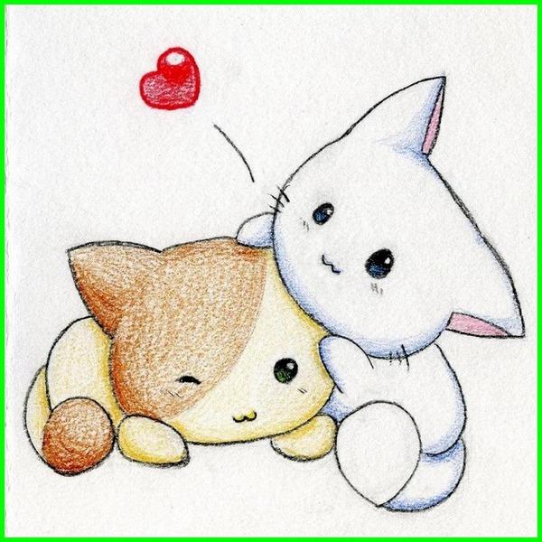 kucing tanda kata-kata cinta