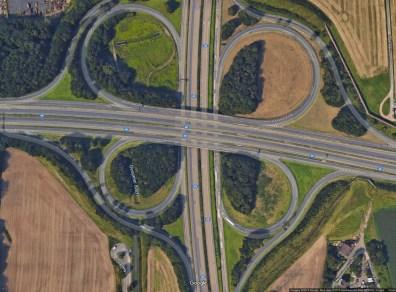 Satelitska snimka petlje