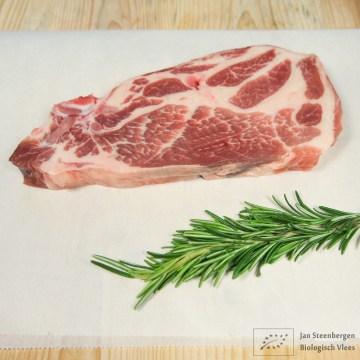 Berkshire varkensvlees - Schouderkarbonade Biologisch