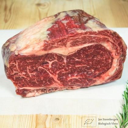 Koop je biologische Wagyu Ribeye aan een stuk bij Jan Steenbergen Biologisch Vlees