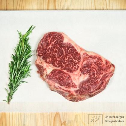 Koop je biologische Wagyu Ribeye steak bij Jan Steenbergen Biologisch Vlees