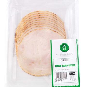 Biologische vleeswaren kopen zoals gegaarde kipfilet
