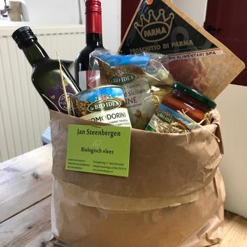 biologische levensmiddelen pakket
