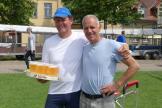 Dieter gibt einen aus der letzte Sieg mit Ulf war vor 9 Jahren