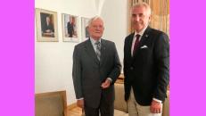 Konservatorius V. Ušackas (dešinėje). Nuotr. facebook.com