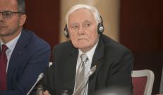 Slaptojo kalėjimo steigėjas prezidentas Valdas Adamkus. Nuotr. Roman Niedźwiecki