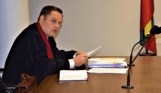 Prokuroras Tomas Uldukis knygų leidėjo teismo posėdyje