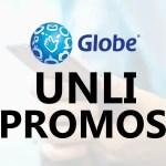 Globe GoUNLI (Go UNLI) 20, 25, 30, 50, 95, 180, 350 Promo Offers 2019