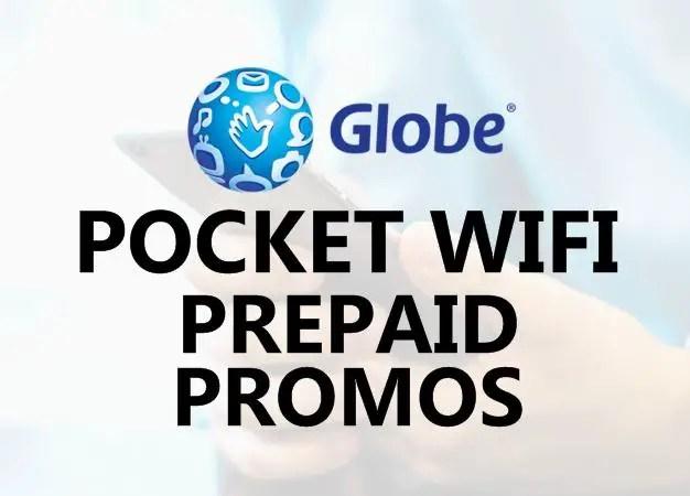 Globe Prepaid Pocket Wifi Load Promo Offers 2020
