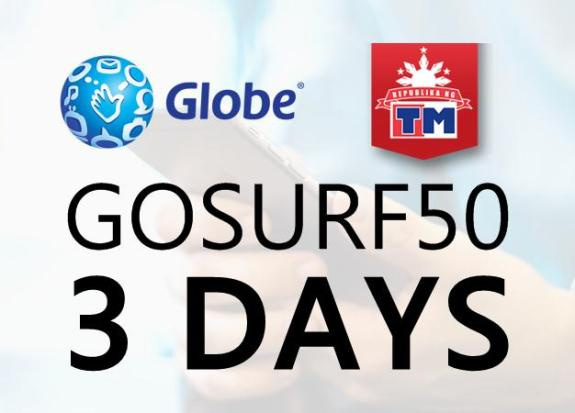 GoSURF50 Globe and TM