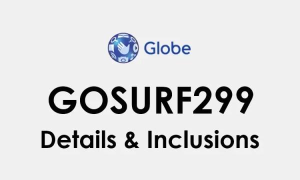 GoSURF299: Globe Go SURF 299