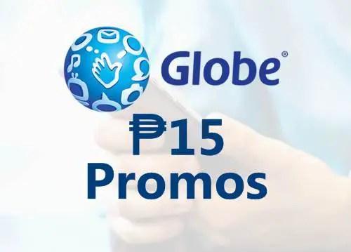 Gobe 15 pesos promos