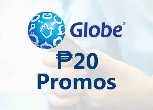 Globe 20 Pesos Promo Offers 2019: Call, Text, Mobile Data (1 day, 2/3 days)