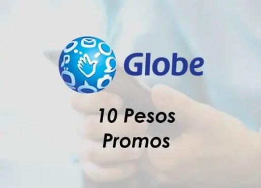 Globe / Gosakto 10 Pesos Promo Offers 2020: Call, Text, Mobile Data/Internet