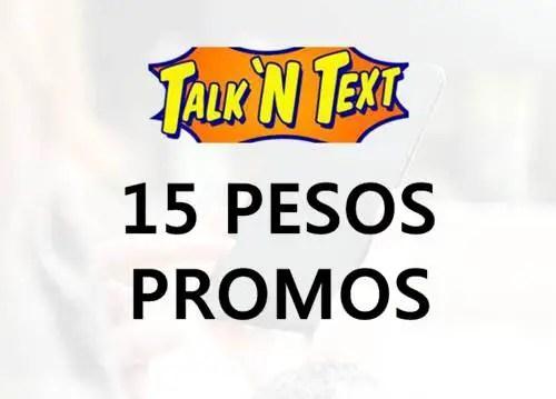 Talk 'N Text (TNT) 15 Pesos Promo List 2018