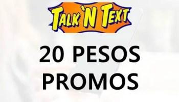 d16c72d919 Talk  N Text (TNT) 20 Pesos Promos 2019  UPDATE