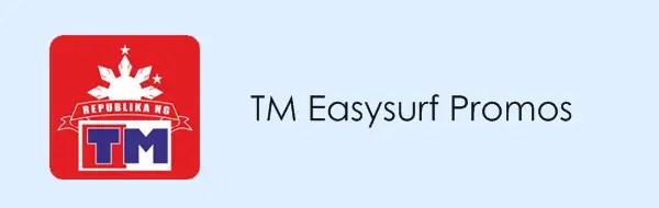 TM Easysurf Promo offers 2019: TM Easy Surf - Mobile Data Promos