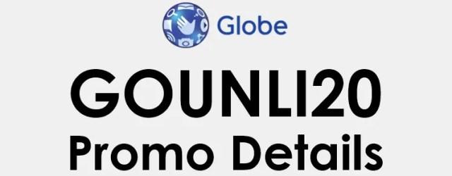 GoUNLI20: Globe Go UNLI 20