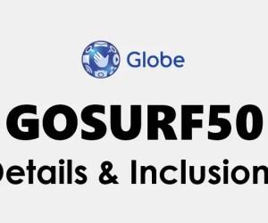Globe GoSURF50 Promo Details: How to register GoSURF 50, extend, or stop