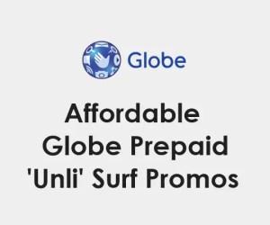 Globe Unli-Surf / Internet Surfing Promo Offers 2021