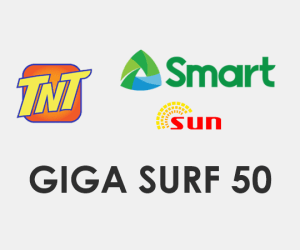 GIGA SURF 50 / GIGA50 - Smart, TNT, Sun