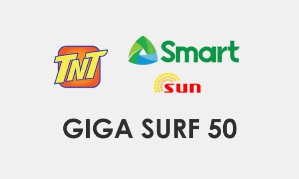 GIGA SURF 50 / GIGA50 - Smart, TNT, Sun