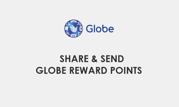 How to share, send Globe Reward Points