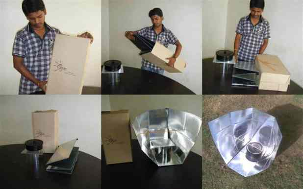 Tejas- a simple DIY solar cooker