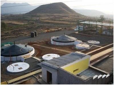 biogas bottling project