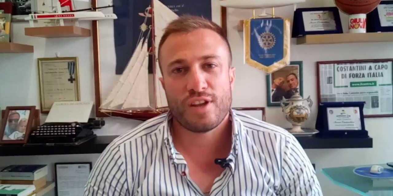 Giulianova, Jwan Costantini si dimette da Coordinatore di Forza Italia per candidarsi a Sindaco con le civiche