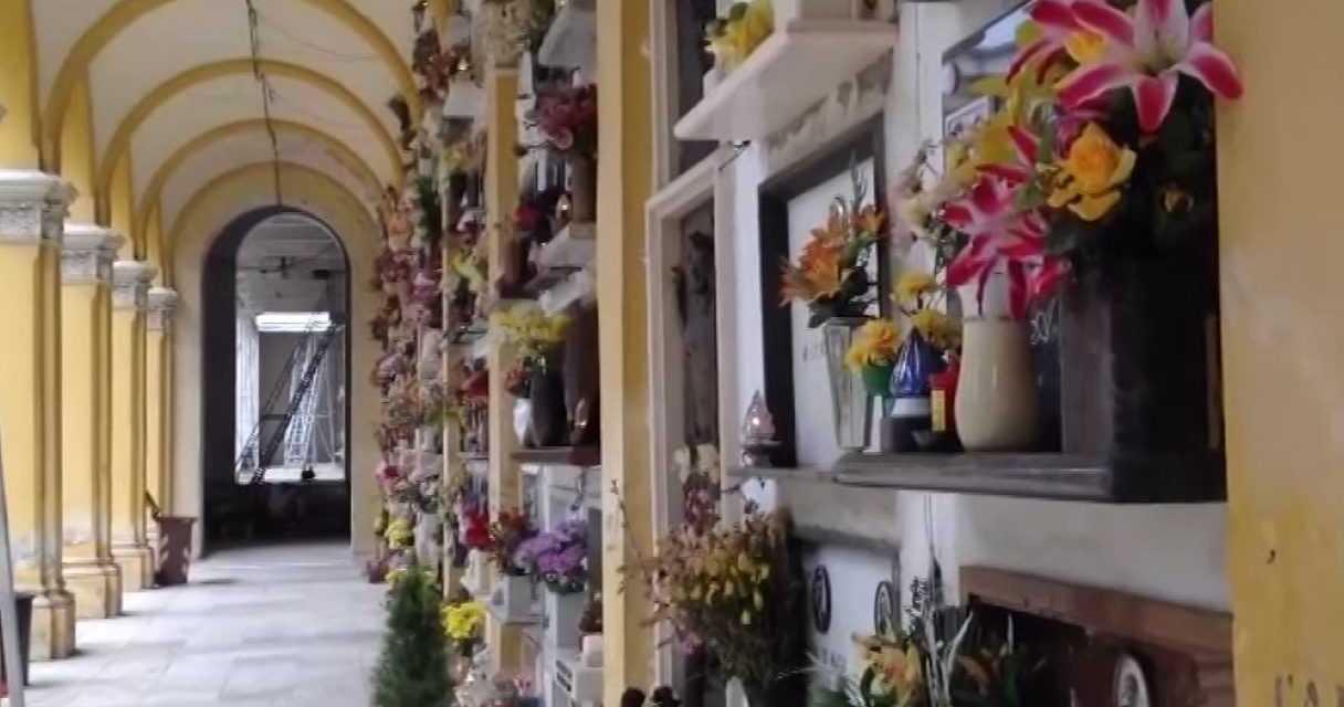 Cimitero di Cartecchio, finalmente l'accesso per gli invalidi in carrozzella