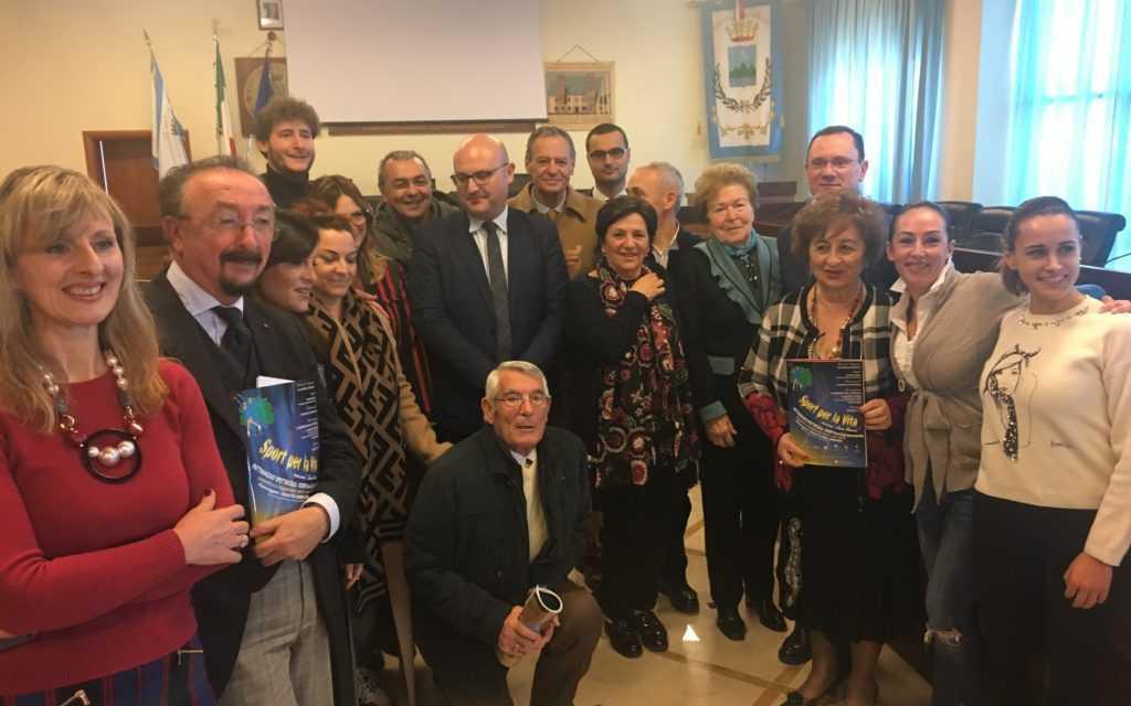 """Roseto, presentata la 34^ edizione di """"Sport per la Vita"""" con i Campioni del Mondo di Pattinaggio artistico"""