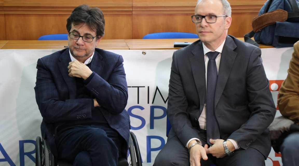 FOTO   Il presidente CIP Nazionale Luca Pacalli a Pineto per commentare la Settimana dello sport paralimpico