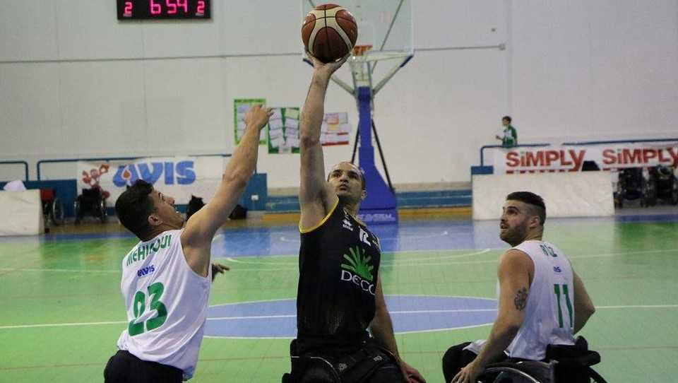 Basket in carrozzina, un'Amicacci sfortunata consegna a Santo Stefano gara 1