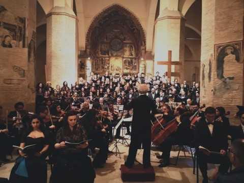 FOTO   Atri, Basilica gremita per il concerto in occasione del decennale del sisma