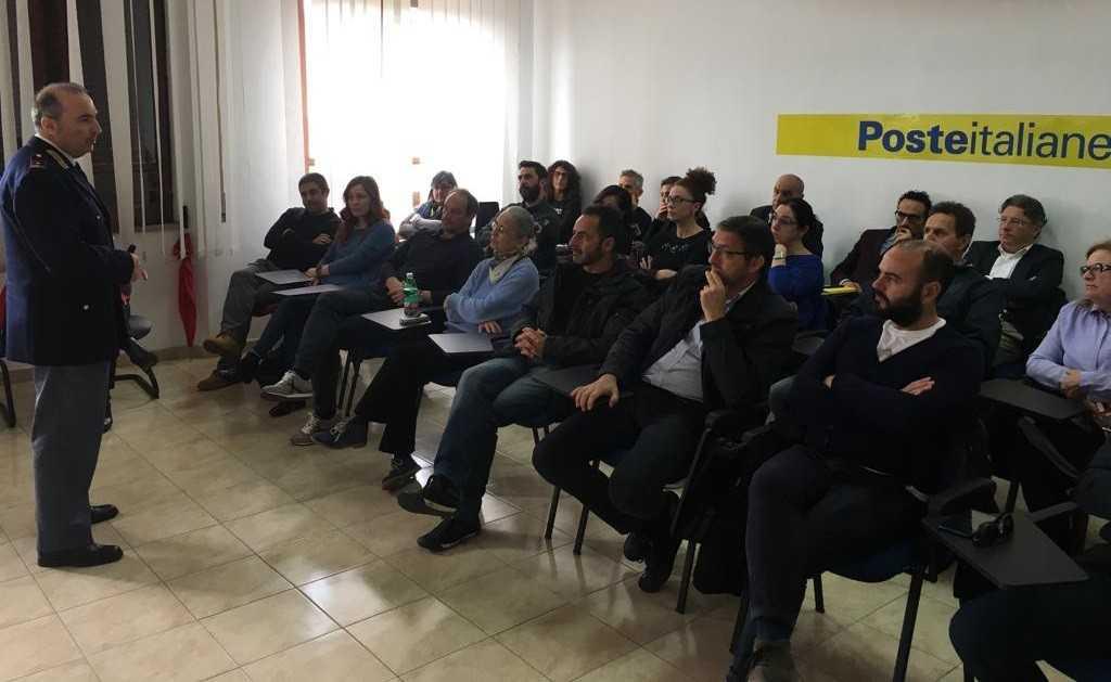 """Poste Italiane, ha fatto tappa a Teramo il progetto """"Guida Sicura"""""""
