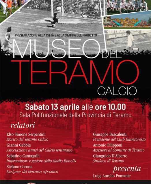 Teramo, il Club Biancorosso presenta il Museo del Teramo calcio
