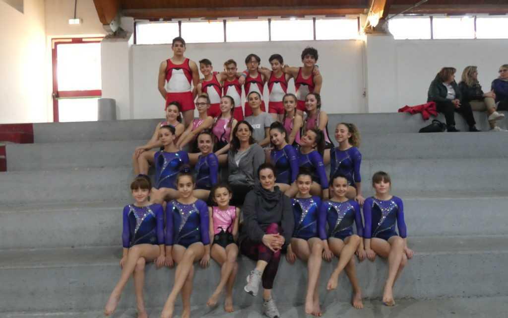 FOTO | La Ginnastica Teramo Libertas si impone anche nei campionati regionali di artistica maschile e femminile Csi
