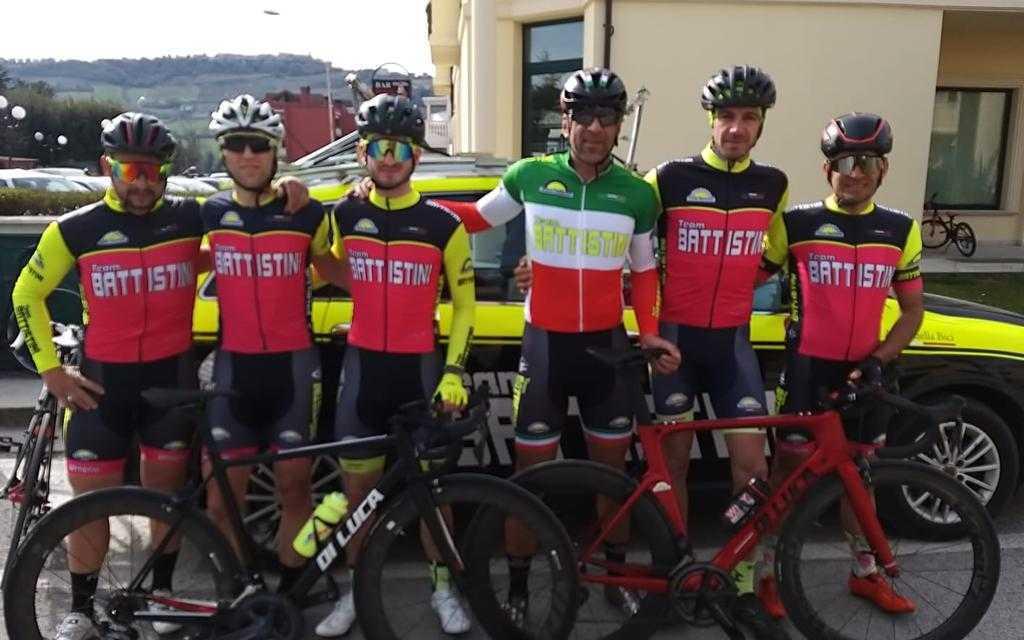 Ciclismo. Giro d'Italia Amatori e Tricolori Master: giugno di grande impegno per il Team Battistini