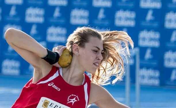 Atletica Gran Sasso, Ludovica Montanaro ottiene migliore prestazione stagionale italiana U.20 nel getto del peso