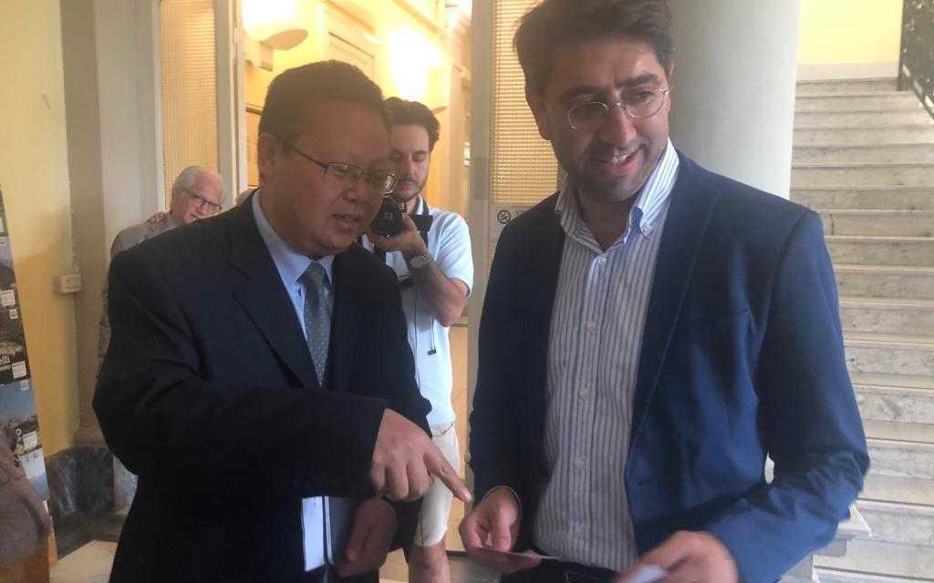FOTO e VIDEO | Cina e Teramo vicine per l'agricoltura: delegazione cinese in Provincia e in futuro investimenti